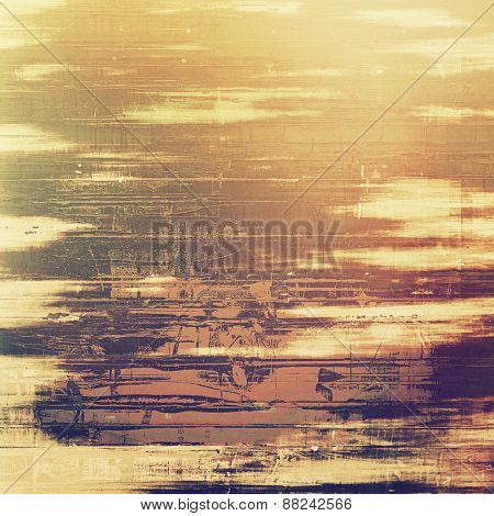 Designed grunge texture or background. With different color patterns: yellow (beige); brown; gray; purple (violet)