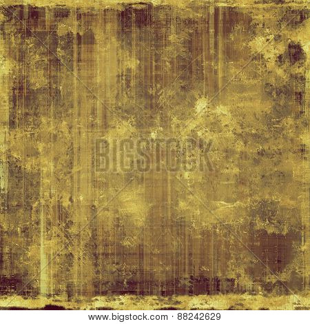Old antique texture (for background). With different color patterns: yellow (beige); brown; gray