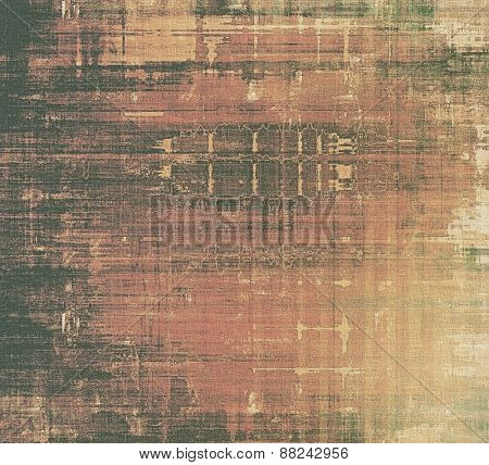 Old antique texture (for background). With different color patterns: yellow (beige); brown; gray; black