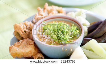 Traditional Thai Food Carb Paste