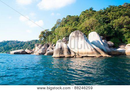 Sunny Rocks Big Stones