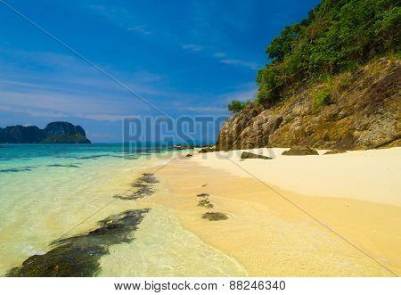 White Sand Lagoon Landscape
