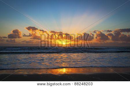 Sunrise Over Gold Coast, Australia