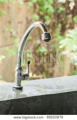 Metal Faucet.