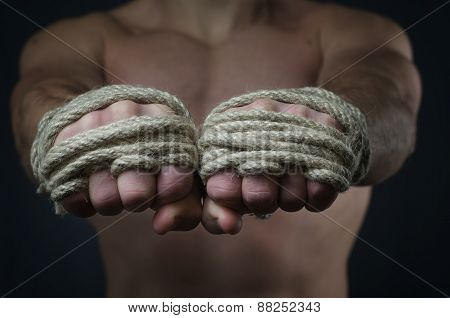 Hands Thai Boxer