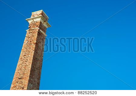 Old-fashioned Smokestack