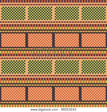 pattern texture background orange green