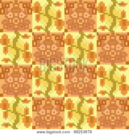 pattern texture background orange yellow