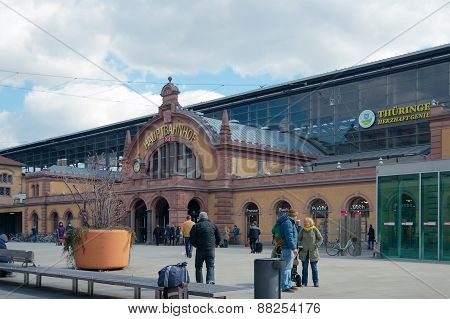 Erfurt Hauptbahnhof, Thuringia, Germany