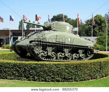 Sherman M4 Tank