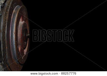 Transmission wheel heavy industry