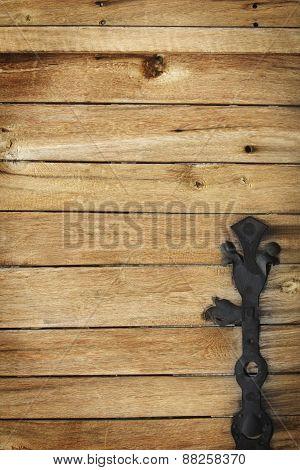 Texture Of Old Doors