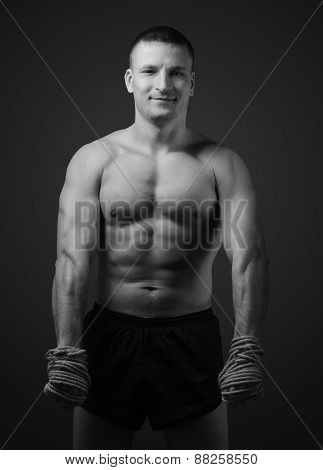 A Young Thai Boxer