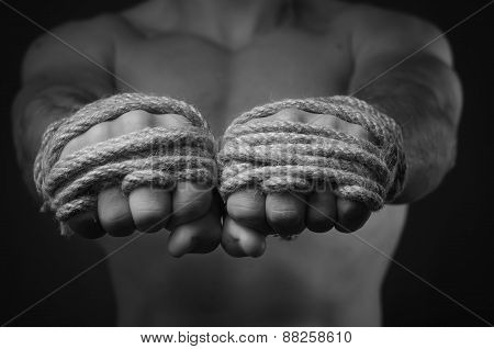 Hands Thai Boxer
