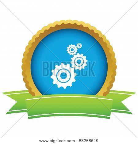 Gold mechanism logo