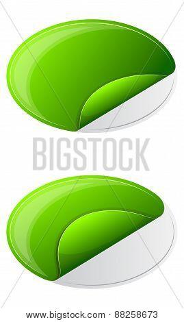 Collection ellipse sticker