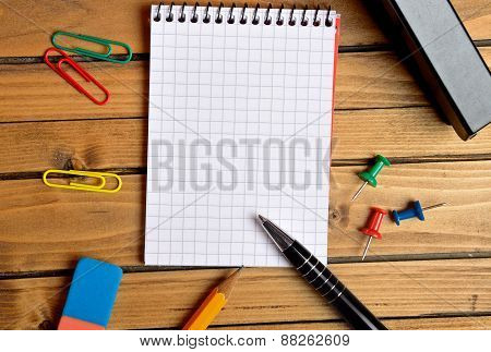 Stationary Office On Table