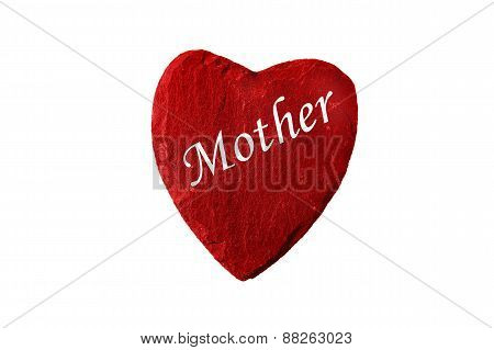 Mother´s Day Red Heart