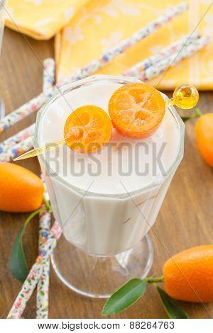 Milkshake With Kumquats