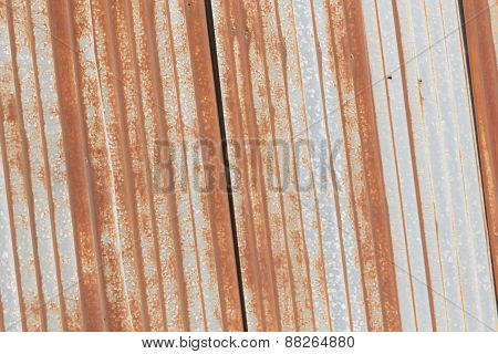 Rusty Galvanized Sheet
