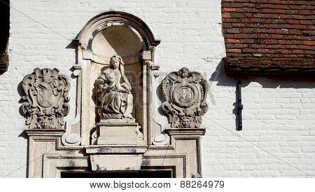 Door Way Decoration In Bruges