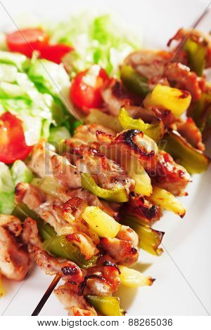 Chicken Skewer With Pineapple