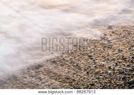 Sea Blurs And Stones