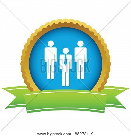 Gold working team logo