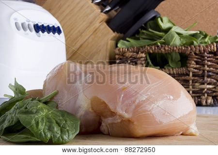 Sliced Chicken White Meat