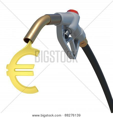 Grey hose tube with oil euro