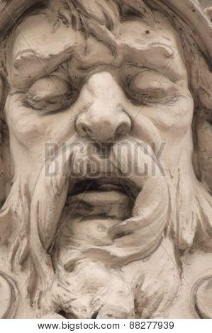 God Zeus (fragment)