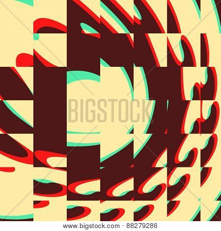 Abstraction asymmetry background