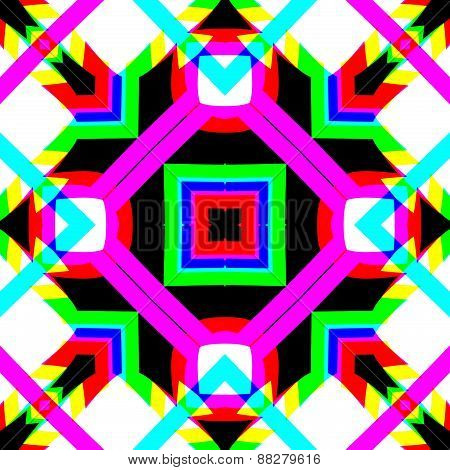 Geometric decorative pattern