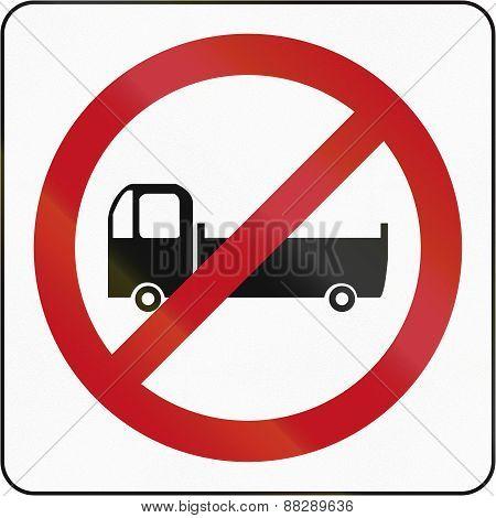 No Lorries In Brunei