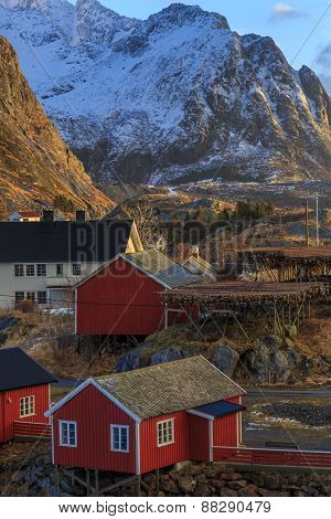 Reine, fishing towns in norway