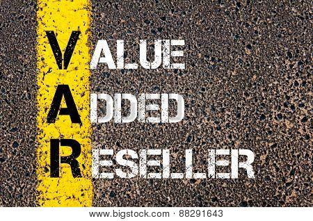 Business Acronym Var As Value Added Reseller