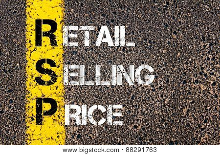 Business Acronym Rsp As Retail Selling Price
