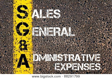 Sga As Sales General And Administrative Expenses
