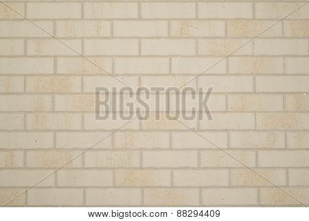 Brick wall tiles.