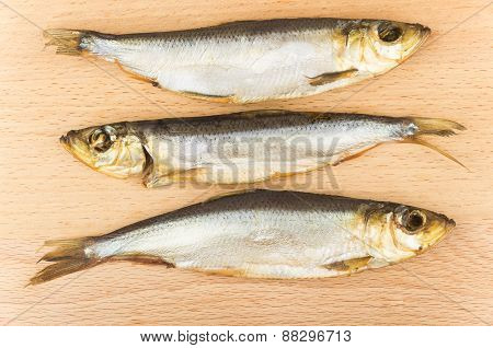 Three Smoked Fish On Board