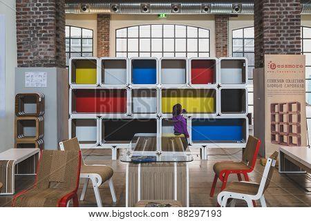 Furniture At Fuorisalone During Milan Design Week 2015