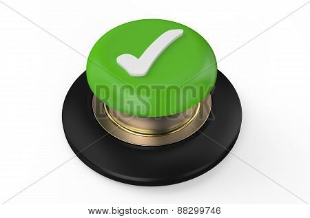 Checkmark Red Button