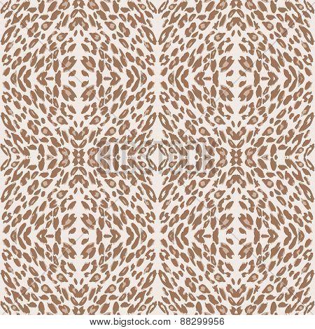 leopard print pattern skin.
