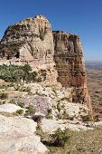 foto of ethiopia  - Landscape in Tigray province close to Adigrat - JPG