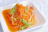 Somtum, Hot and spicy papaya and carrot salad poster