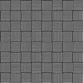 stock photo of grating  - Black and white abstract grid grating pattern - JPG