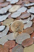 foto of twenty dollars  - New Zealand money kiwi dollar coin currency - JPG