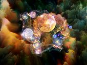 stock photo of fractals  - Dream Surface series - JPG