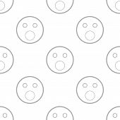 pic of emoticons  - Smiling emoticons on a white background - JPG