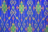 picture of thread-making  - pattern on silk for making a background image - JPG